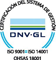Calidad certificada asegurada porDNV-GL